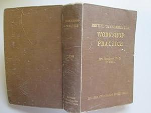 British Standards For Workshop Practice B.S. Handbook No. 2 1953 Edition: Baty, Je.