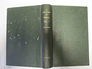 A History Of Israel, Volume 1.: Robinson, Theodore H