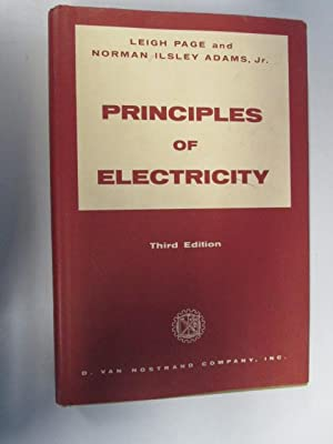 Principles of electricity: An intermediate text in: Page, Leigh