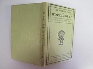 The Shorter Poems of William Wordsworth: Wordsworth, W