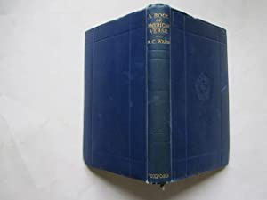 A Book of American Verse: A.C. WARD
