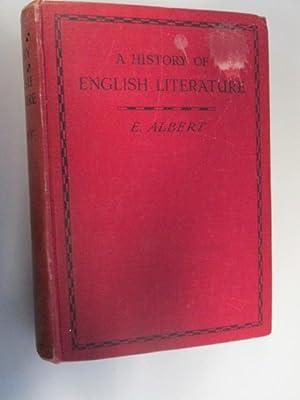 A History of English Literature: Edward Albert