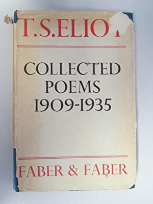 Collected Poems: 1909-1935: ELIOT, T. S.