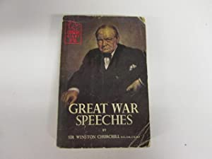 Great war speeches (A Corgi book): Churchill, Winston