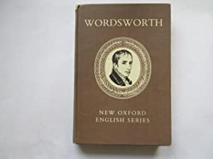 Wordsworth Selected Poetry and Prose: John Butt