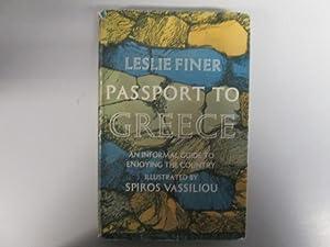 Passport to Greece: Finer, Leslie