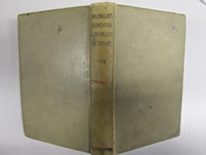 MACMILLAN\'S ELEMENTARY LATIN-ENGLISH DICTIONARY: FOR USE IN: G. HERBERT NALL