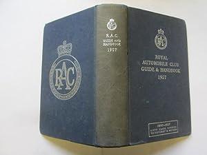 Royal Automobile Club Guide & Handbook 1957