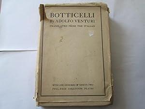 Botticelli: Venturi, Adolfo [