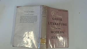 Greek literature for the modern reader: Baldry, H. C