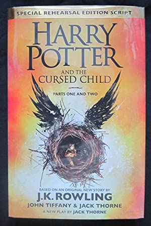 HARRY POTTER AND THE CURSED CHILD Parts One and Two. ***PRISTINE TRUE FIRST EDITION WITH THE SCARCE...