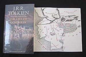 THE FALL OF GONDOLIN. ***U.K. FIRST EDITION: Tolkien, J. R.