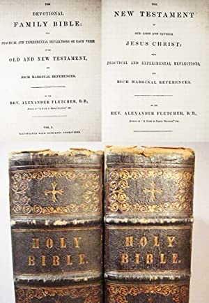 The Devotional Family Bible: With Practical And: Fletcher, Alexander