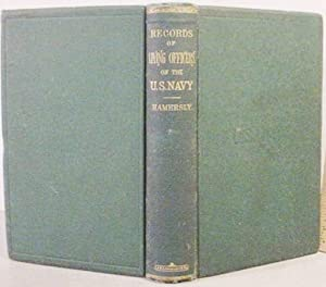 The Records / Of / Living Officers / Of The / U.S. Navy And Marine Corps /...