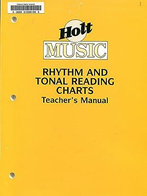 Holt Music Rhythm and Tonal Reading Charts;: Feierabend, John