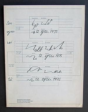 TM SGM RSI - Typografische Monatsblatter /: Roger Chatelain, Heinrich