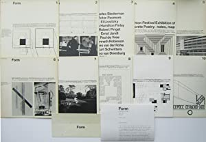 Form Magazine (Complete Set 1-10): Edited by Philip