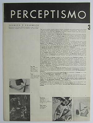 Perceptismo no. 3: Raul Lozza (ed.);