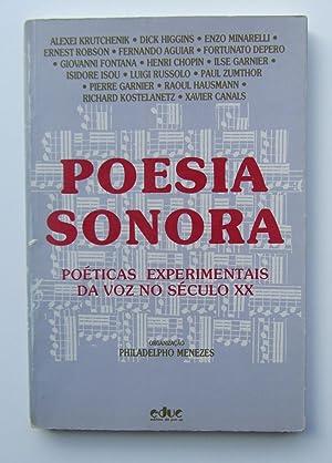 Poesia Sonora: poeticas experimentais da voz no: Philadelphio Menezes, Dick