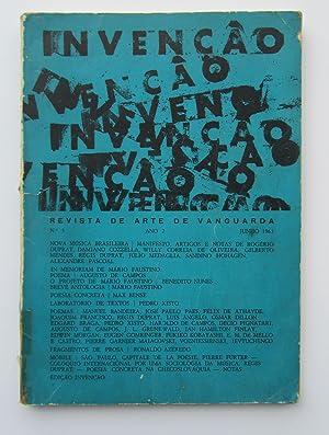 Invencao no. 3 Revista de Arte Vanguarda: Decio Pignatari (ed.),