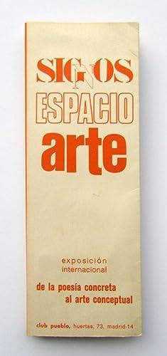 Signos Espacio Arte   exposicion internacional de: Luis Perez, Eugen