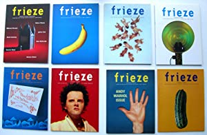 FRIEZE - Issues 1 - 20 (missing number 3): Stuart Morgan,Matthew Slotover, Thomas Gidley (editors)....