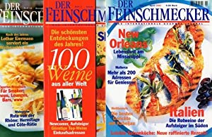 Der Feinschmecker. Das internationale Gourmet-Journal. Heft 1, Heft 4 u. Heft 12/2001