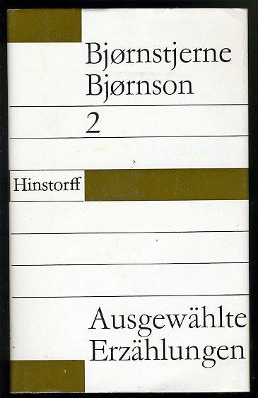 Ausgewählte Erzählungen in zwei Bänden (nur) Band: Bjornson, Bjornstjerne: