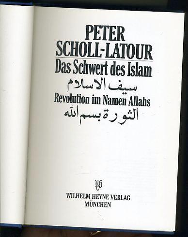 das schwert des islam von scholl latour - ZVAB