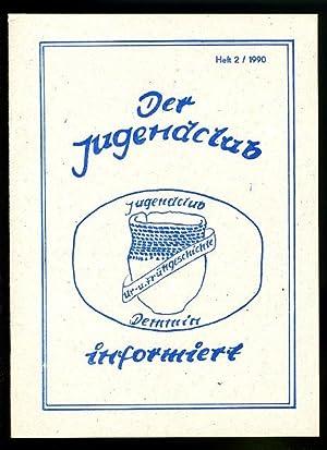 Der Jugendclub informiert. Jugendclub Ur- und Frühgeschichte Demmin. Heft 2.