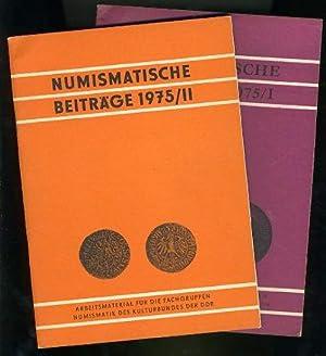 Numismatische Beiträge 1975, Heft 1 und 2,