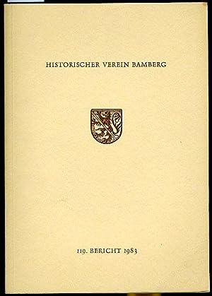 119. Bericht. Historischer Verein für die Pflege der Geschichte des ehemaligen Fürstbistums Bamberg...