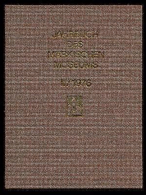Jahrbuch des Märkischen Museums. Kulturhistorisches Museum der: Hampe, Herbert ;