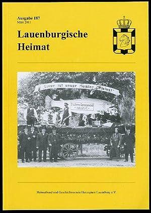 Lauenburgische Heimat. Zeitschrift des Heimatbund und Geschichtsvereins