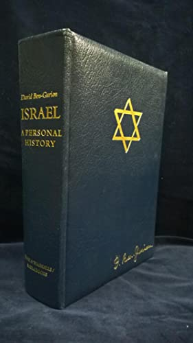 Israel: A Personal History. Limited edition signed: Ben-Gurion, David