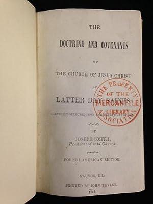 Doctrine and Covenants - 1846 Nauvoo 4th American edition: Smith, Joseph