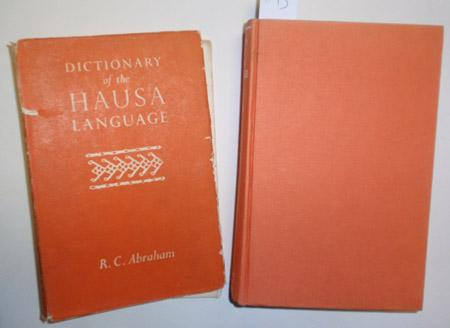 Dictionary of the Hausa Language.: Abraham, R. C.