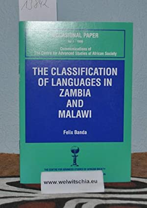 The classification of languages in Zambia and Malawi.