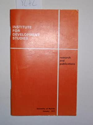 Research and Publications January 1977.