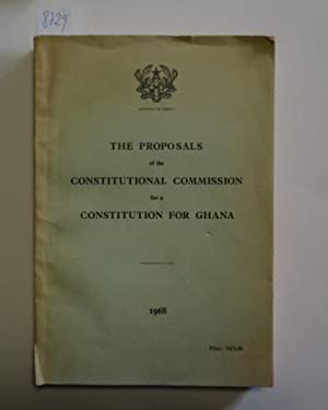 The proposals of the Constitutional Commission for a Constitution for Ghana.