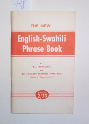 The New English-Swahili Phrase Book.