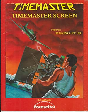 Timemaster RPG Game Master Screen Includes Missing: Smith, Carl