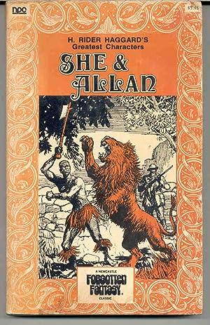 She and Allan: Haggard, Henry Rider