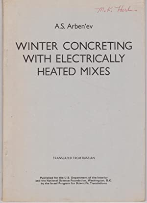 Winter Concreting with Electrically Heated Mixes