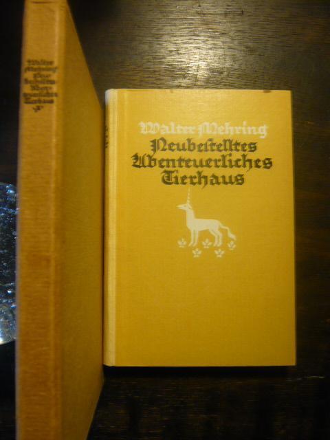 Neubestelltes abenteuerliches Tierhaus.: Mehring, Walter