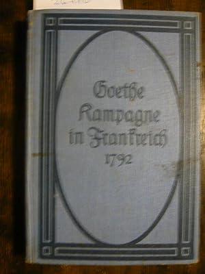 Kampagne in Frankreich 1792.: Goethe