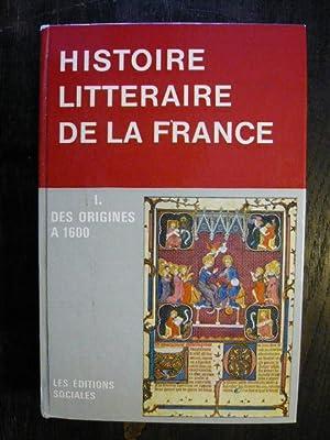 Manuel d'Historie Litteraire de la France.: Payen, Jean-Charles et