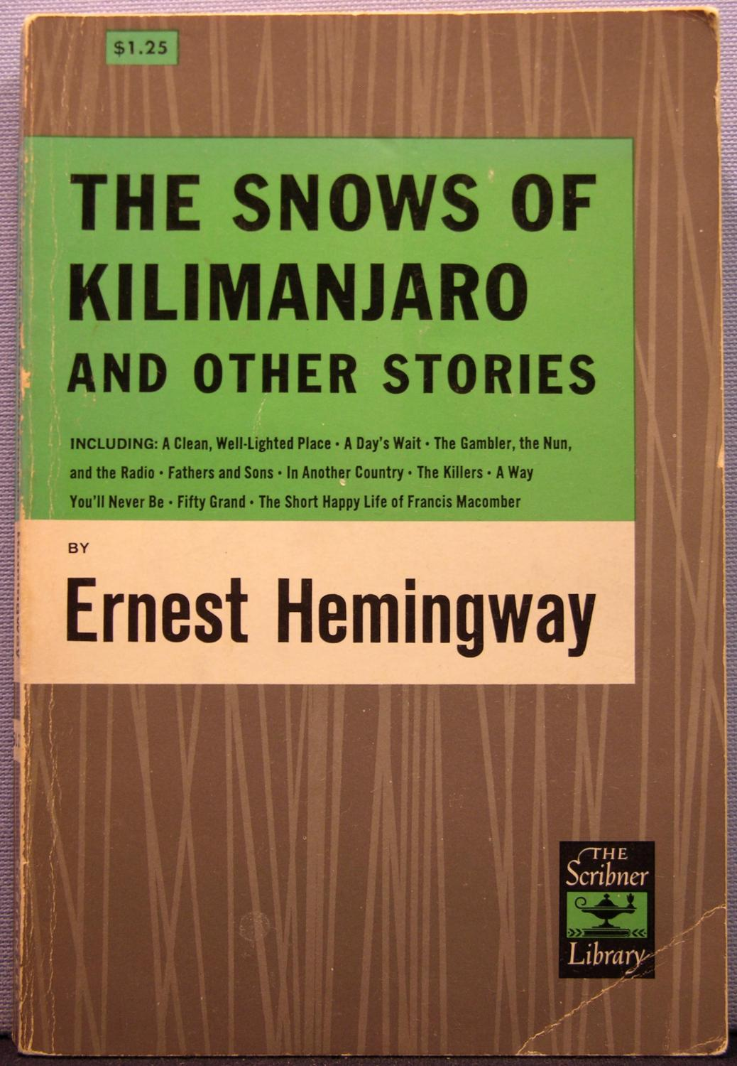 "the escape from nothingness in a clean well lighted place by ernest hemingway The main themes of the short story ""a clean, well-lighted place"" by ernest hemingway are existential nothingness and despair these themes are enhanced by the motifs of loneliness and drinking."