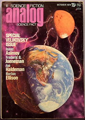Analog Science Fiction / Science Fact ~ Vol. 94 #2 ~ October 1974