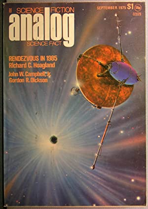 Analog Science Fact & Fiction ~ Vol. 95 #9 ~ September 1975